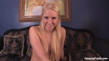 Mistress Vanessa Cage tells you to jerk off