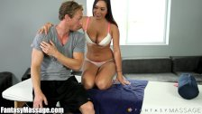 FantasyMassage Curvy Sister and Step-Brother