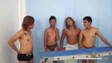 Gay Asian Twink Idol Gets Tickled