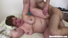 Bigtit Fat Mama Anal Fucked By Young Cock