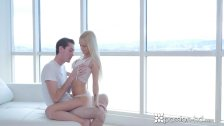 PASSION-HD Blonde Alex Grey fucked in a high rise with facial
