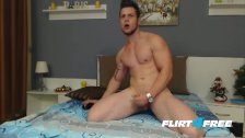 Athletic Horny Guy Loves Talking Dirty