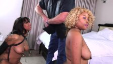 My girlfriend and I dominated by a white master / Nina Rivera
