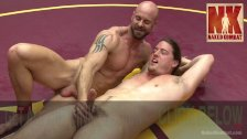 Muscle Hunks Battle for Sexual Domination