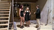 Two German Chicks Give Amazing Oral Action To One Lucky Dude
