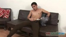 Nude hunky lad gets his goods explored - duration 3:30