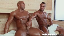 HotHouse Sean Zevran sudato sesso in sauna