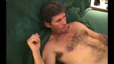 Homemade Video of Mature Amateur Larry Beating Off