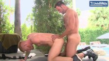 Bennett Anthony and Anthony London - Outdoor Rimming!