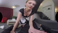 French Maid Luca Bella has a lot of sexual fantasies