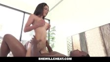 SheWillCheat - Tia Cyrus Ride Black Cock While Husband Is At Work