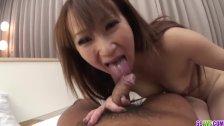 Anna Mizukawa delights with two big Asian cocks on cam