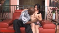 tiny short skinny asian pigtailed teen cutie gets black