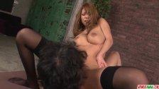 Big boobs Haruka Sanada amazing sex in flamin - More at Japanesemamas com