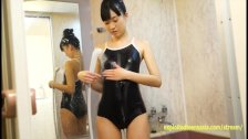 Miyauchi Shiorii Debut Teen Before She Became AV Star Teases In The Shower