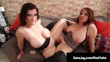 Sex Fiends Sara Jay & Maggie Green Scissor Fuck & Grind Cunt