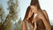 Lesbian Kisses So Erotic
