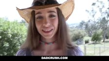 DadCrush - Cute Country Girl Fucks In Boots