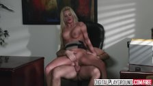Digital Playground - Riley Steele rides her bosses dick