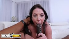 BANGBROS - Busty Angela White Takes Anal From Isiah Maxwell