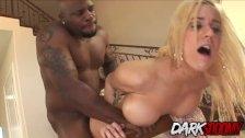 pretty blonde Mariah Madysinn loves BBC in her ass