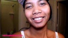 Thai teen Heather Deep deep throat  tharot pie after see shark reef aquariu