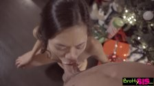 Bratty Sis - Dick In A Box Christmas Present By Pervy StepBro S7:E12