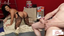Linegried bigclit MILF dirty talks in JOI