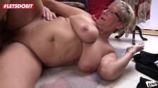 LETSDOEIT - German Mature MILFs Abuse Young Stud