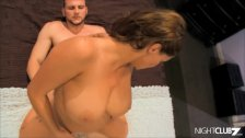 Big cocked younger guy fucks an amazing milf pussy