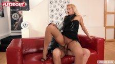 LETSDOEIT - Horny Teen Blonde Aces Her Porn Casting