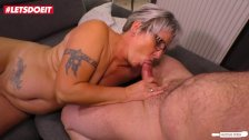 LETSDOEIT - Slutty German Housewife Seduced By Husband Friends
