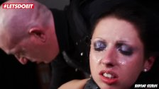 LETSDOEIT - Wild BDSM and Kinky Ass Fingering with Submissive German