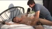 Butch Gets Tickled and Stroked