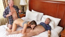 BLUE PILL MEN - Old Man Duke Gets His Dick Wet w/ Young Escort Naomi Alice