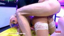 Gorgeous babe Daisy Lee Loves Monster Cocks - German Goo Girls