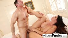 Alison Tyler gets her pussy stuffed with Russian cock