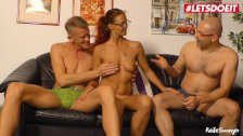 LETSDOEIT - Horny Redhead German Wife Shared By Husband With Best Friend