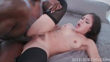 Jules Jordan - Prince goes deep into Kendra Spade's ASS with his Black Cock