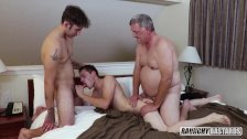 Straight Teen Double Penetrated For Cash