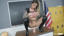 Big Tits Karma Rx Plays With Her Pussy and Dildo In A Hot Solo Performance