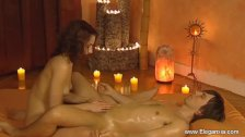 Massage Lessons From Sexy MILF Babe