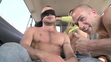 BAIT BUS - Mr. Daily Jams His Big Rod In Ethan Ayers's Straight Bait Ass
