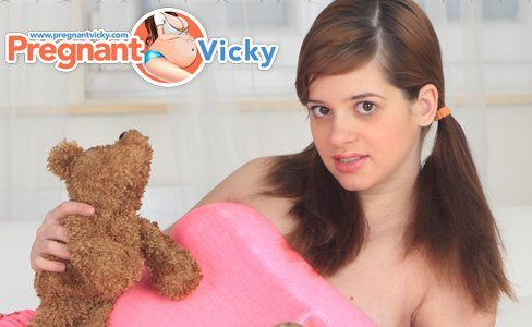 Pregnant Vicky