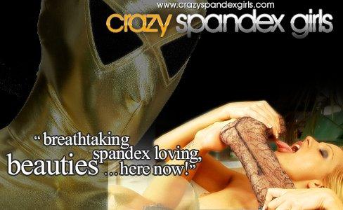 Crazy Spandex Girls