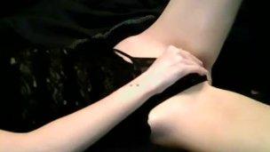 EXGF Teen Fingers Pussy lingerie xxarxx