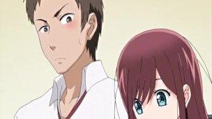 Hentai schoolgirl gets her wet pussy fingered