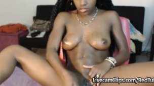 Hot Amateur Cam Teen Ebony Girl Amazing Sexy
