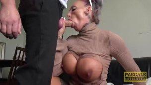 PASCALSSUBSLUTS – Busty UK Brooke Jameson Rough Fucked By Pascal