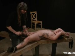Electrical Orgasm And Bondage Play